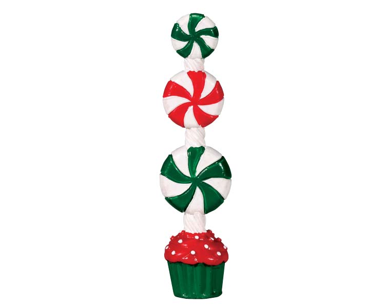 Lemax Village Collection Peppermint Candy Topiary # 74208