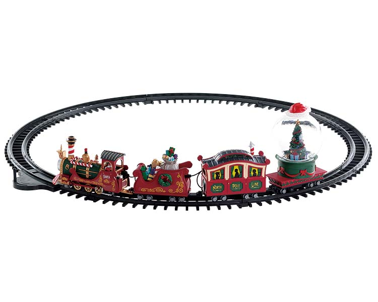 Lemax Village Collection North Pole Railway Battery Operated # 74223