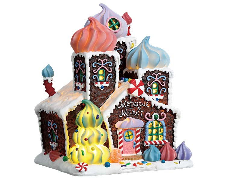 Lemax Village Collection Meringue Manor Battery Operated # 75179