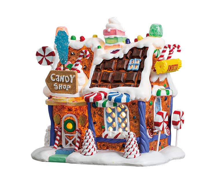 Lemax Village Collection The Candy Shop Battery Operated # 75181