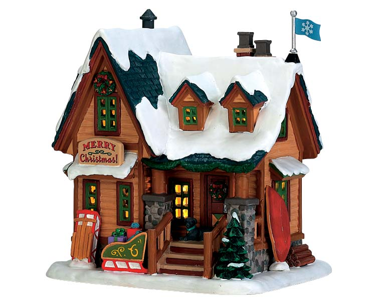 Lemax Village Collection Williams Cabin # 75200