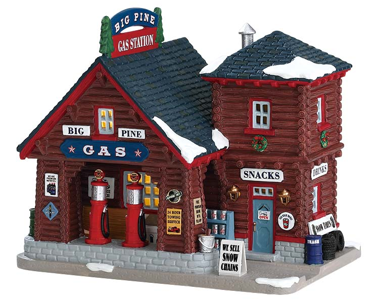 Lemax Village Collection Big Pine Gas Station # 75205
