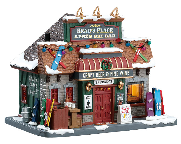 Lemax Village Collection Brad's Place # 75208
