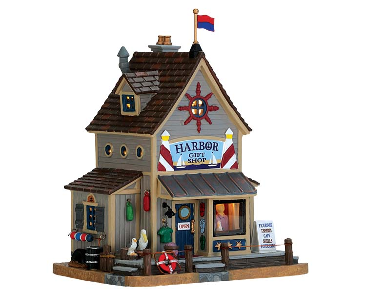 Lemax Village Collection Harbor Gift Shop # 75209