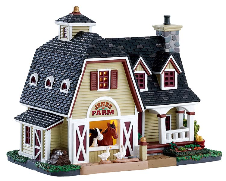 Lemax Village Collection Jones Farmhouse # 75218