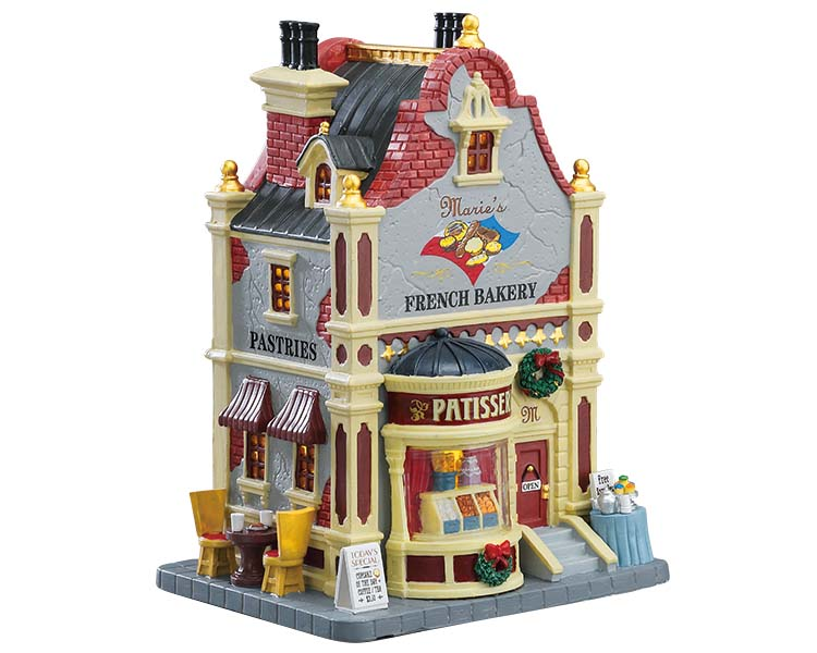 Lemax Village Collection Marie's French Bakery # 75224