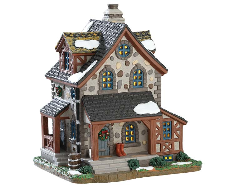 Lemax Village Collection Belle Vue Cottage # 75244