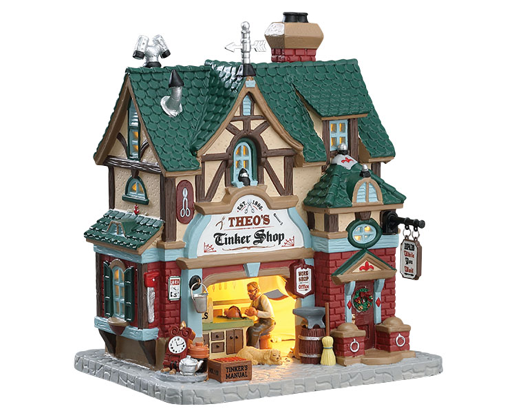 Lemax Village Collection Theo's Tinker Shop # 75247
