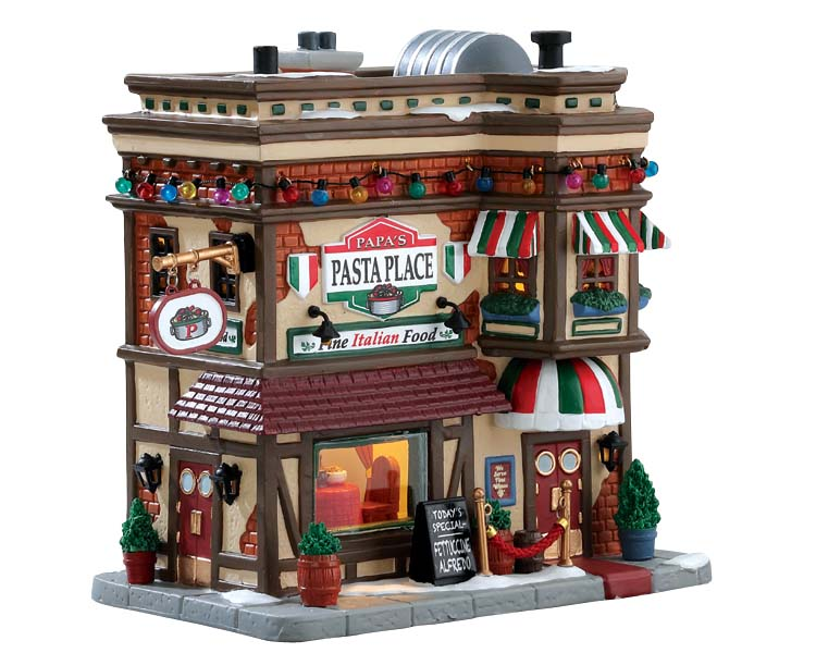 Lemax Village Collection Papa's Pasta Place # 75254