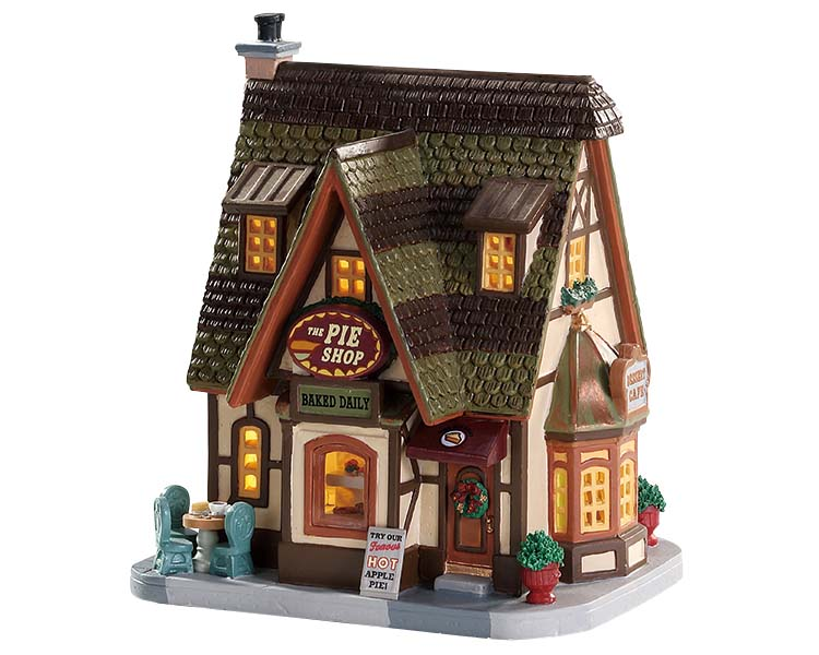 Lemax Village Collection The Pie Shop # 75258