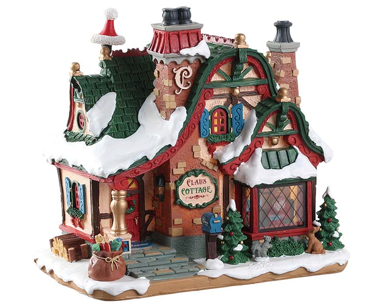 Lemax Village Collection The Claus Cottage Battery Operated # 75292