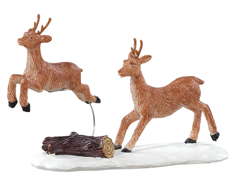 Lemax Village Collection Prancing Reindeer # 82586