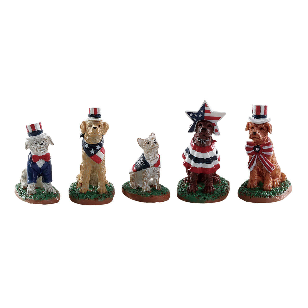 Lemax Village Collection Patriotic Pups # 82600