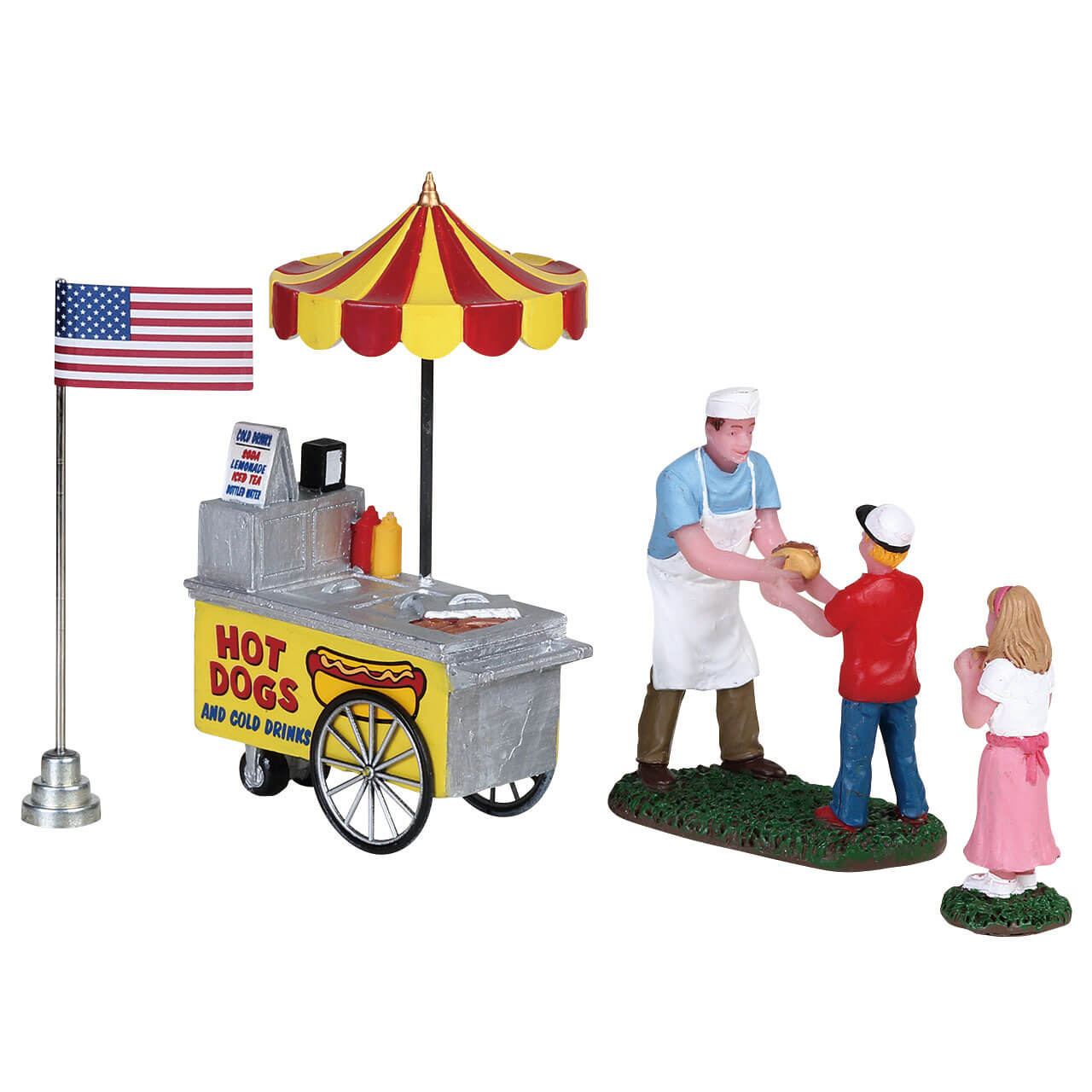 Lemax Village Collection Hot Dog Stand # 82604
