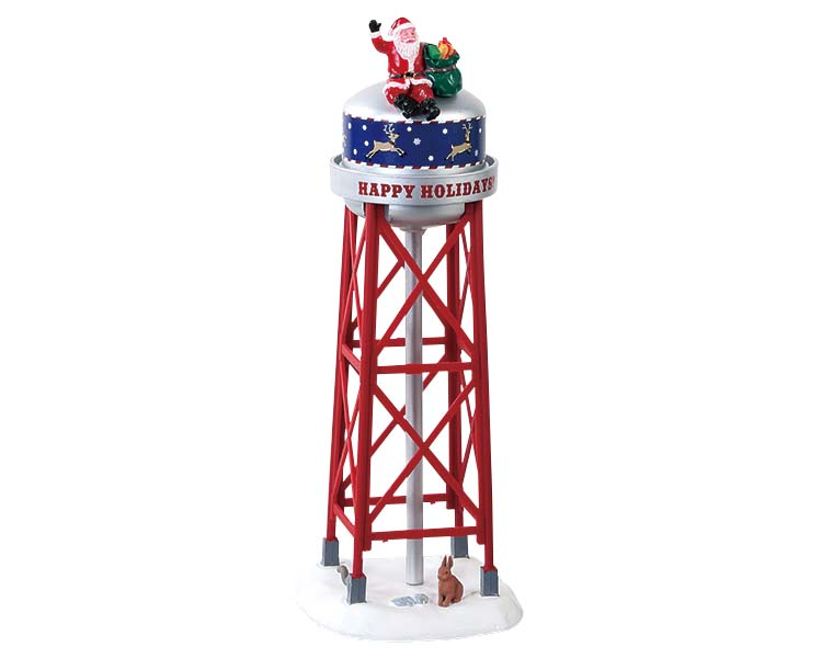 Lemax Village Collection Holiday Tower # 83353