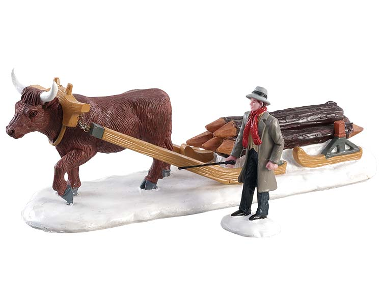 Lemax Village Collection Winter Wood Set of 2 # 83360