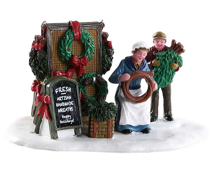 Lemax Village Collection Handmade Wreaths # 83362