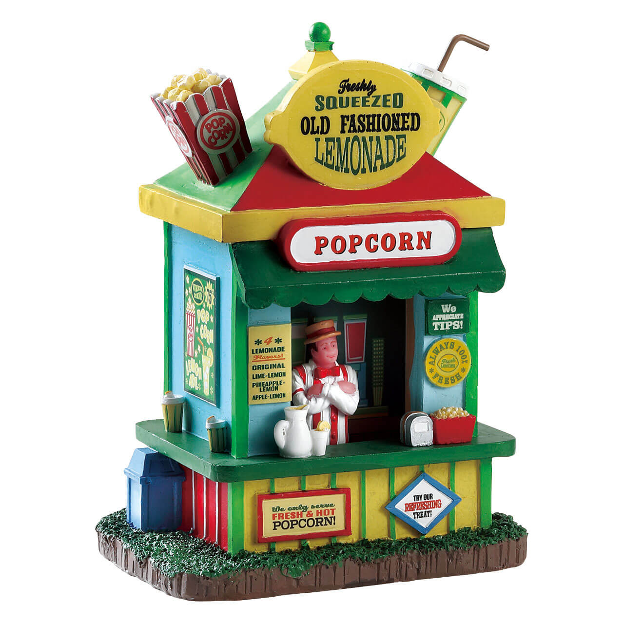 Lemax Village Collection Lemonade and Popcorn Stand # 83367