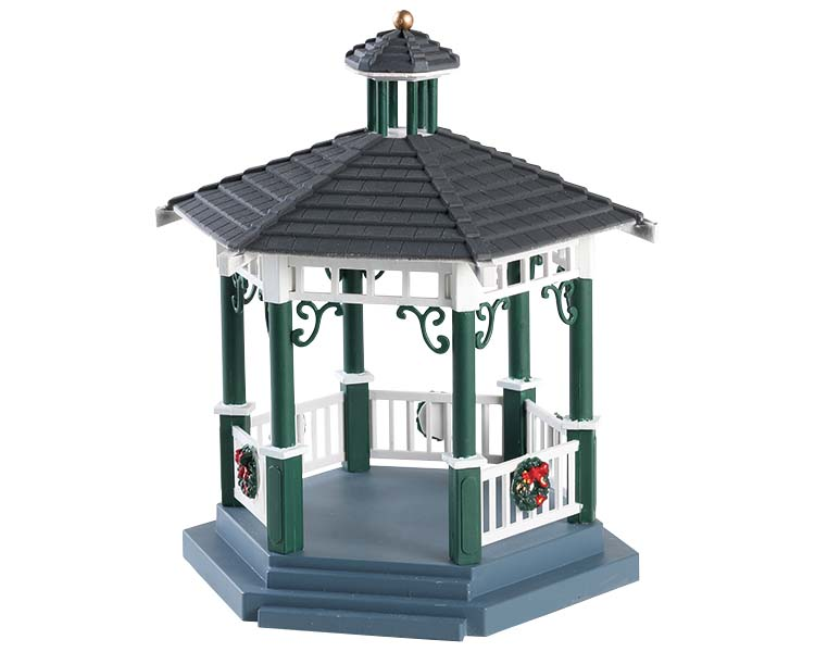 Lemax Village Collection Victorian Park Gazebo # 83369