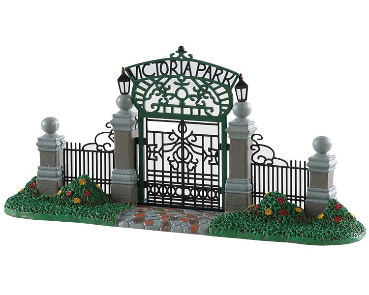 Lemax Village Collection Victoria Park Gateway # 83372