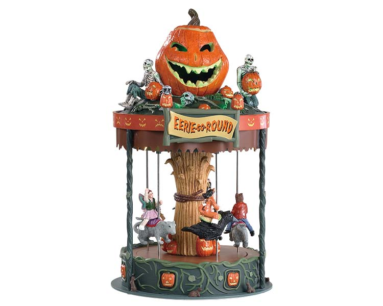 Lemax Spooky Town Eerie-Go-Round Battery Operated # 84331