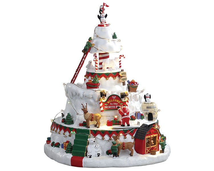 Lemax Village Collection North Pole Tower with Adaptor # 84348
