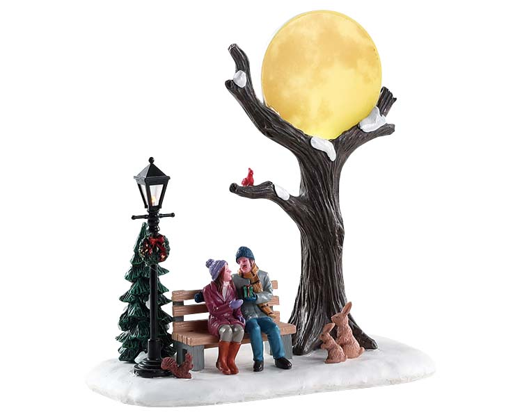 Lemax Village Collection Christmas Moon Battery Operated # 84359