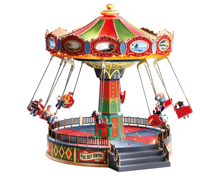 Lemax Village Collection The Sky Swing with Adaptor # 84379