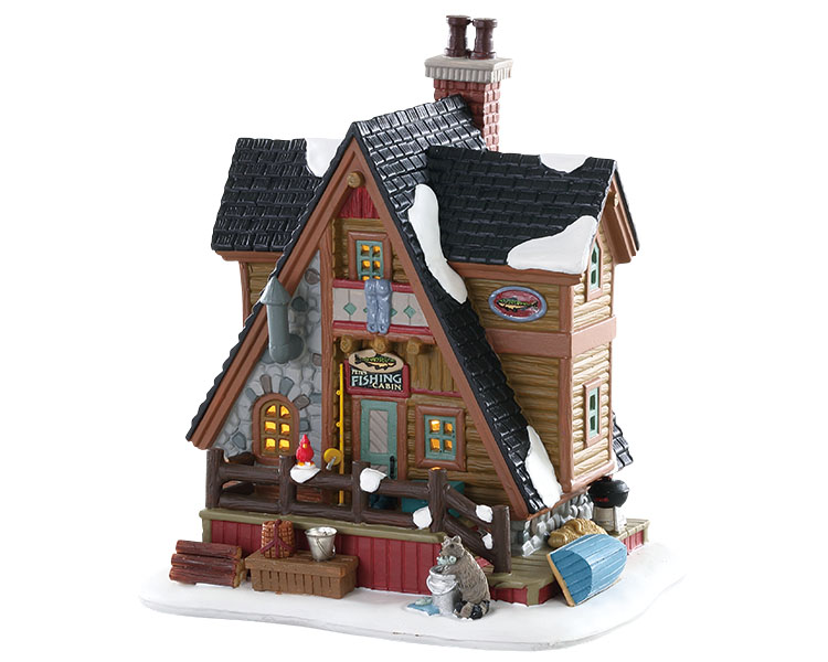 Lemax Village Collection Pete's Fishing Cabin # 85321