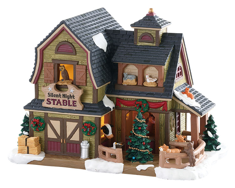 Lemax Village Collection Silent Night Stable # 85325
