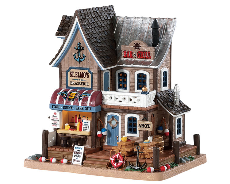 Lemax Village Collection St. Elmo's Brasserie # 85337