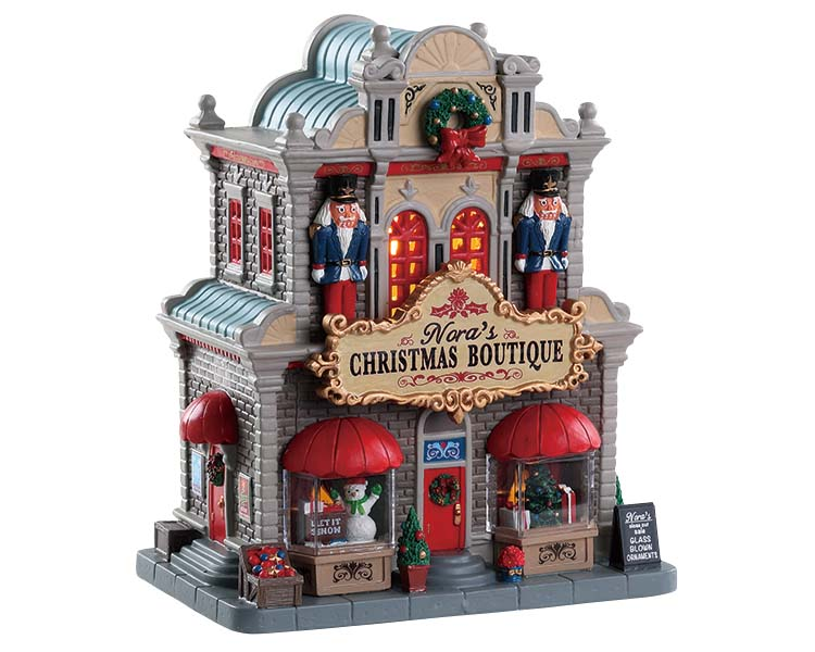 Lemax Village Collection Nora's Christmas Boutique # 85344