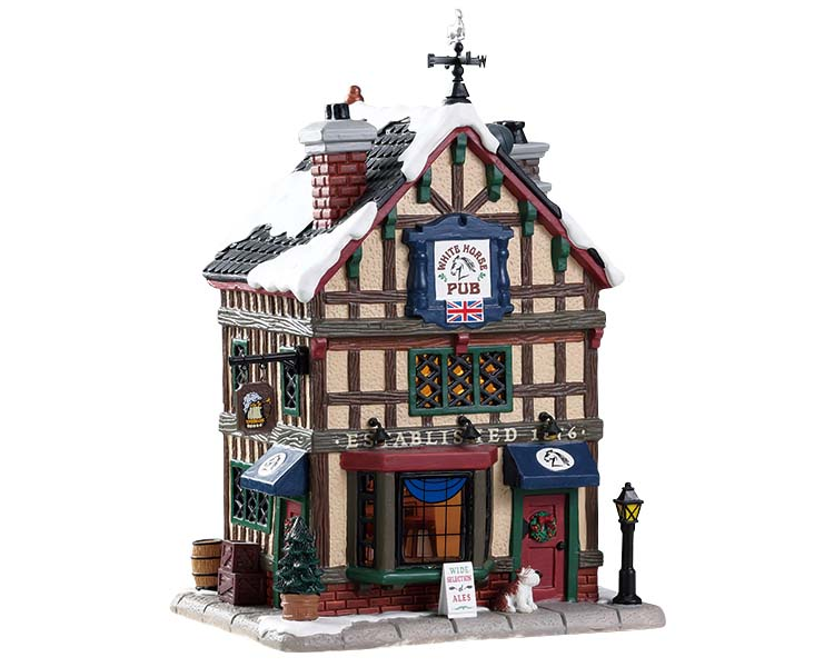 Lemax Village Collection Old British Pub # 85345