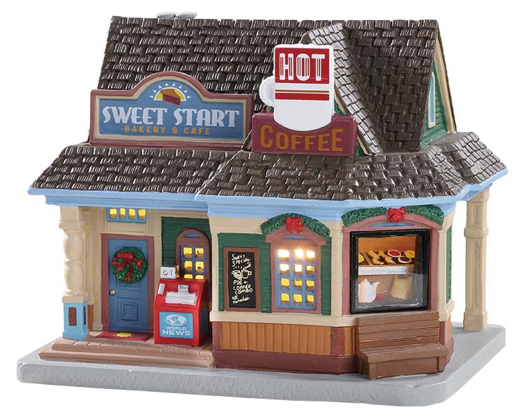 Lemax Village Collection Sweet Start Cafe # 85348
