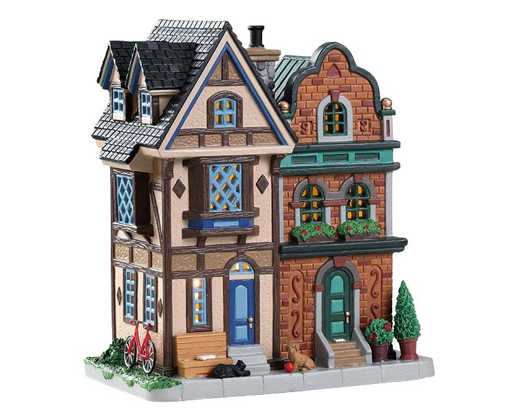 Lemax Village Collection King Street Rowhouses # 85376