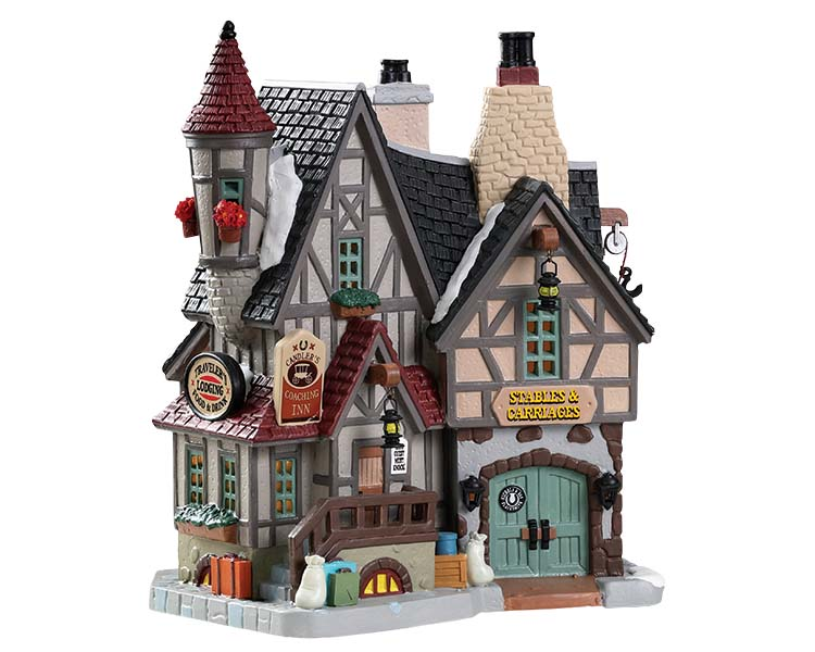 Lemax Village Collection Candler's Coaching Inn # 85377