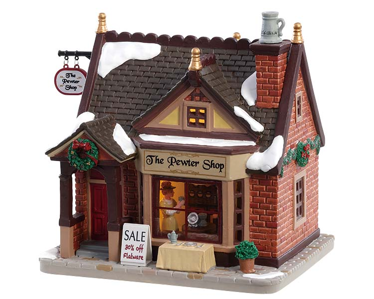 Lemax Village Collection The Pewter Shop # 85378