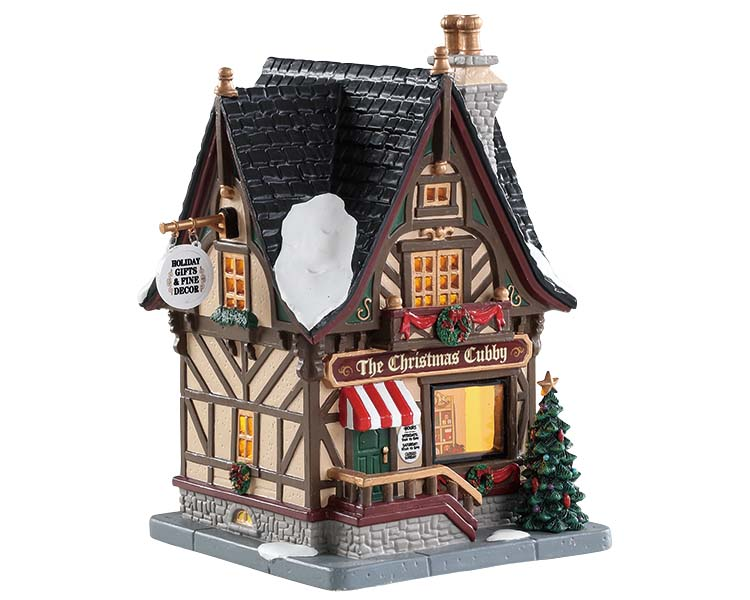 Lemax Village Collection The Christmas Cubby # 85387