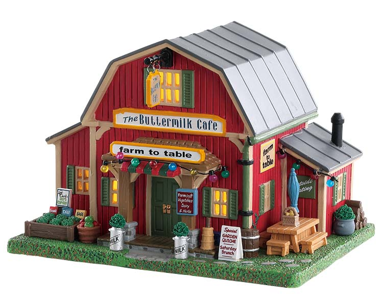 Lemax Village Collection The Buttermilk Cafe # 85388
