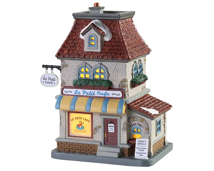 Lemax Village Collection Le Petit Cafe # 85412
