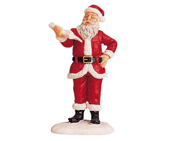 Lemax Village Collection Mr Santa Claus # 92334
