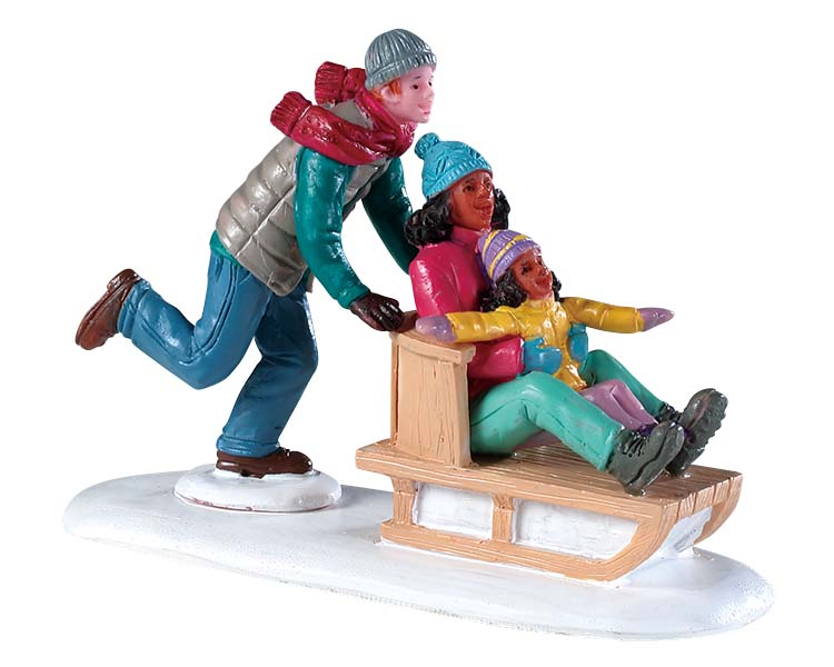 Lemax Village Collection Family Snow Day # 92755