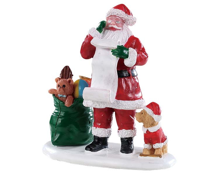 Lemax Village Collection Naughty Or Nice Santa # 92760