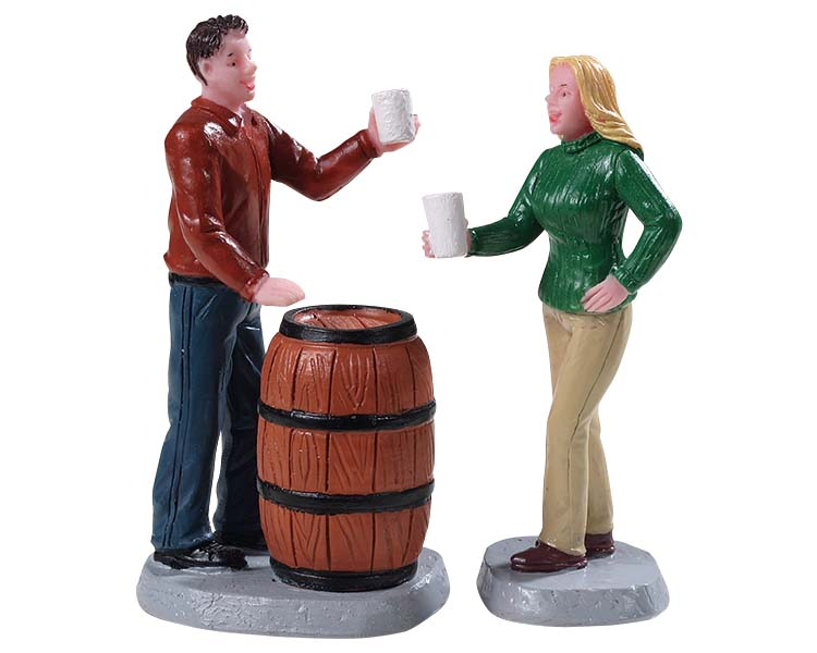 Lemax Village Collection Cheers! Set of 2 # 92769