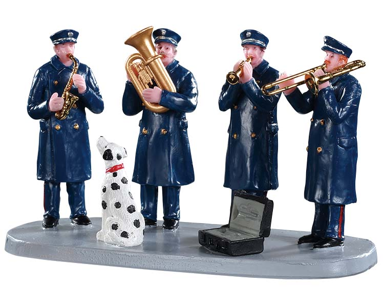 Lemax Village Collection Firehouse Band # 93421