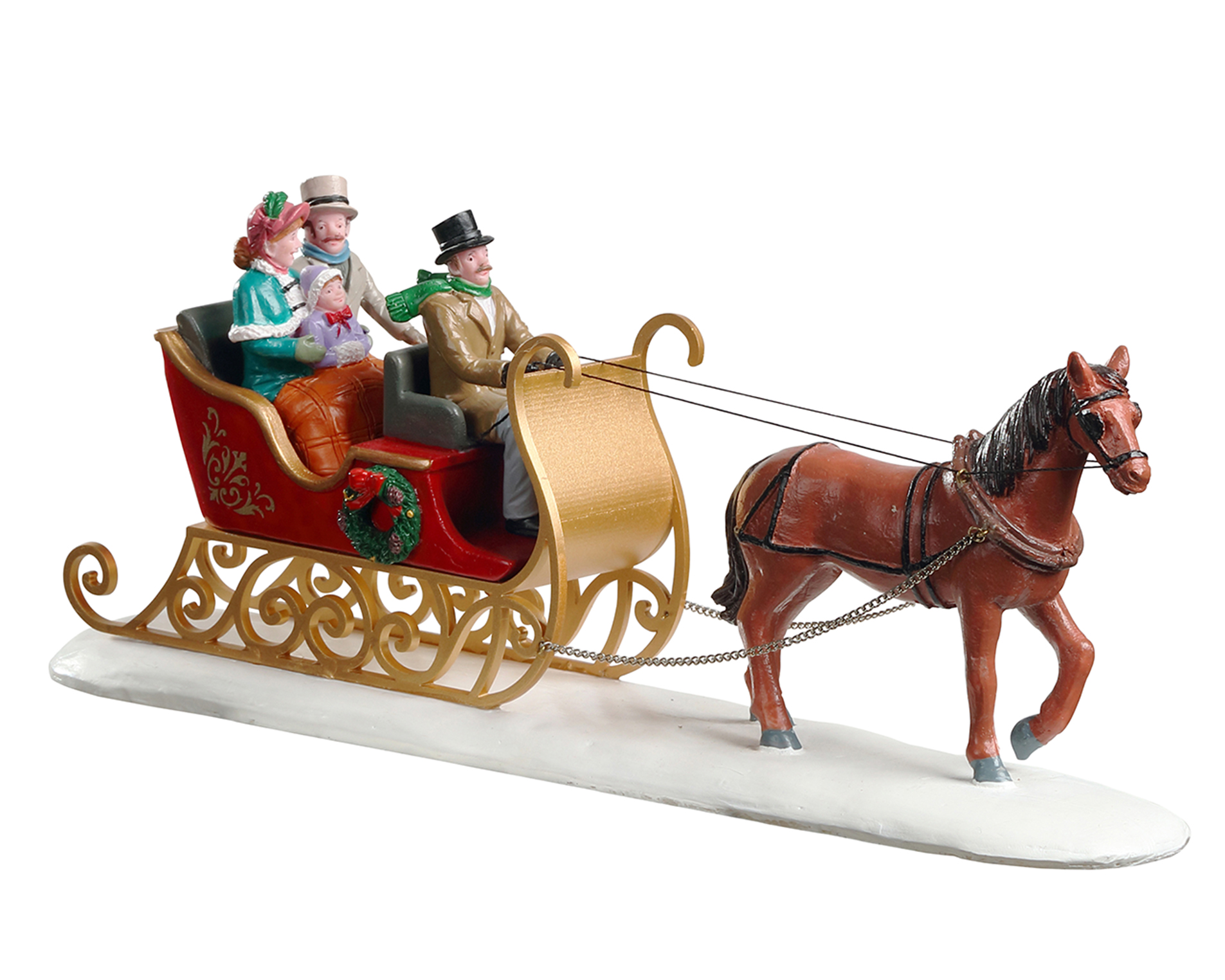 Lemax Village Collection Victorian Sleigh Ride # 93433