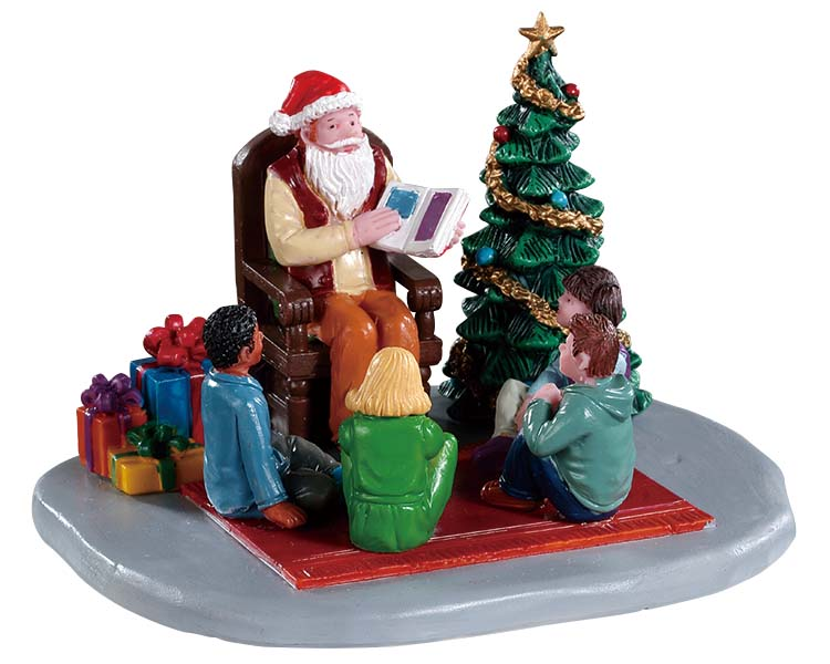 Lemax Village Collection Storybook Santa # 93435