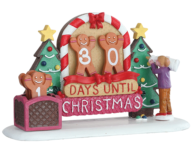 Lemax Village Collection Gingerbread Countdown # 93441