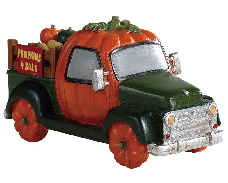**NO OUTER BOX** Lemax Spooky Town Pumpkin Truck # 93445 **READ DESCRIPTION**