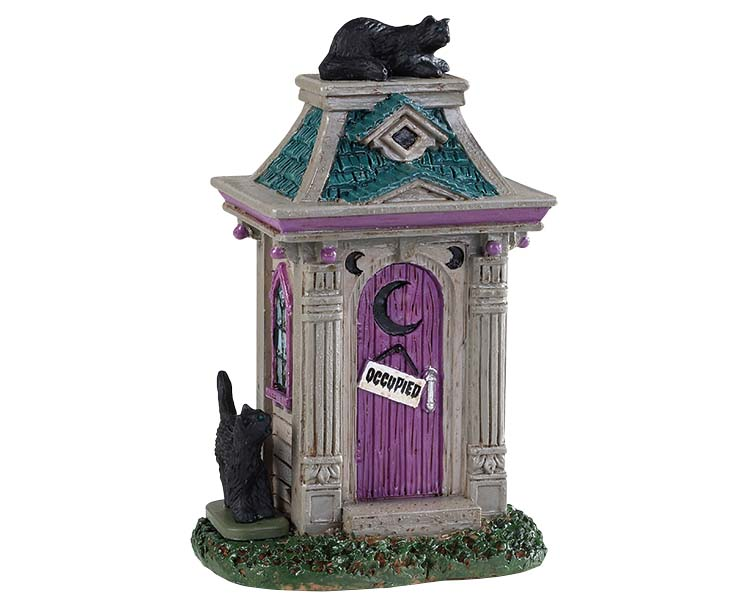 Lemax Spooky Town Haunted Outhouse # 94523